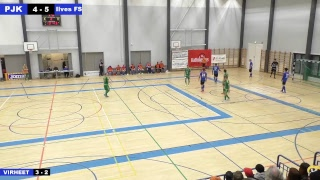 PJK - Ilves FS 21.10.2017 klo 15.00 Futsal-liiga
