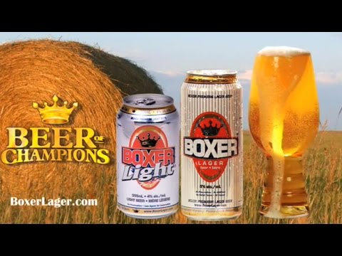 Damn Good Sask  Boxer Lager Commercial NEW