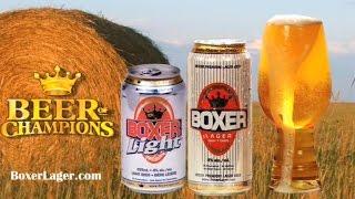 Damn Good Sask  Boxer Lager Commercial New
