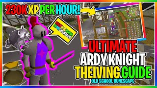 OSRS - Ardougne Knights Thieving Guide - Up to 250K XP Per Hour! - ( EVERYTHING YOU NEED TO KNOW )
