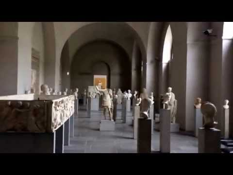 Ancient Greek and Roman Sculptures and Statues Glyptotek Museum Tour Munich Germany