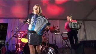 Camille PRIVAT accordeon Eric BOUVELLE Bandonéon  Raulhac aout 2017 Tango