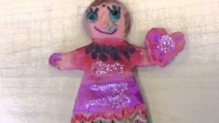 Gingerbread Girls And Boys In Kindergarten