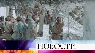 Как снимали фильм, который В.Путин подарил Папе Римскому, рассказал режиссер А.Кончаловский.