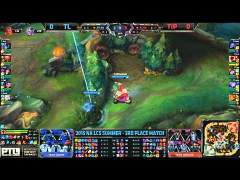 Team Impulse Vs Team Liquid Game 1 Madison Square Garden