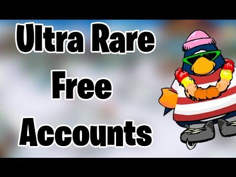 15 free ultra rare club penguin accounts march 2016 youtube