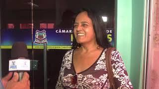 Eliane Machado - Pres. Ass. da Comunidade Serra do Vieira - Reunião orçamentária anual 2018
