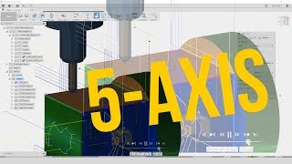 5-AXIS CAM Tutorial. (TITAN-139M) CNC Machining