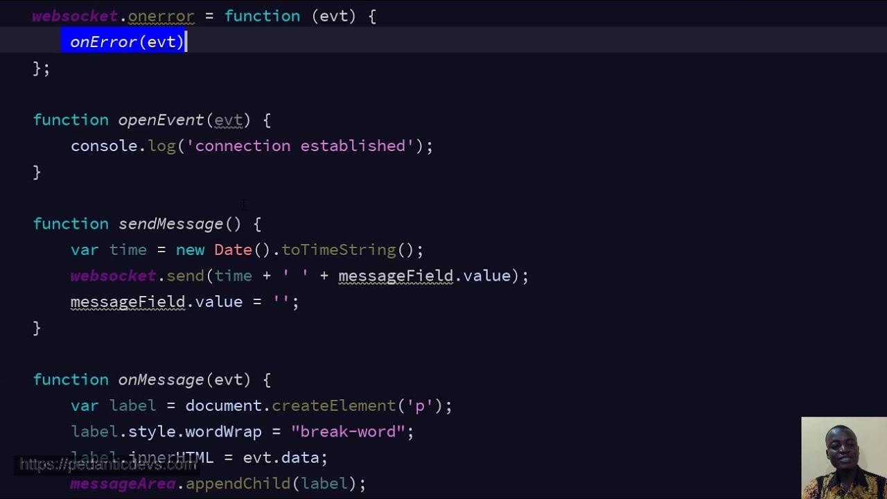 JavaScript WebSocket Client for WebSockets Java EE Server side