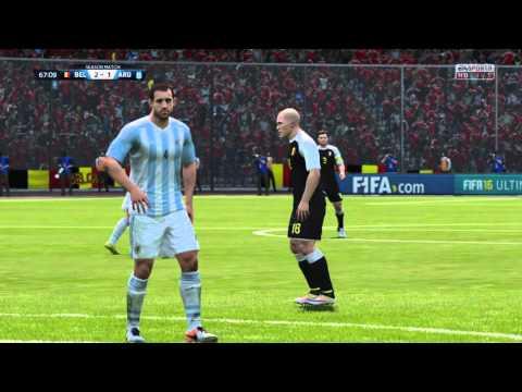 FIFA 16 Argentina vs. Belgium