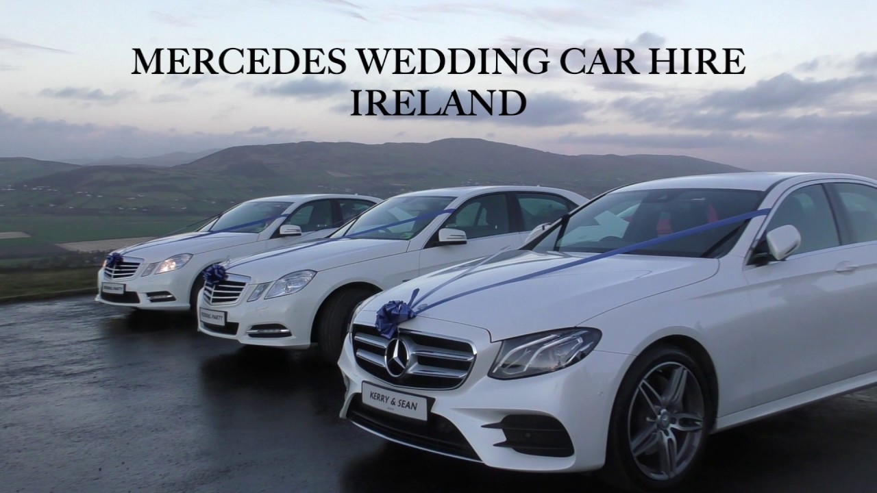 Mercedes Wedding Car Hire Ireland