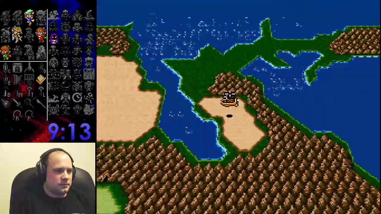 Final Fantasy IV Free Enterprise Randomizer (HTZZ Round of 32 Flags) - 1:24:40