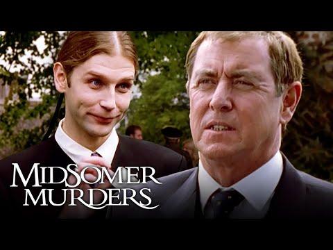 DCI Barnaby Meets A Suspicious Undertaker | Inspector Barnaby's Midsomer Murders