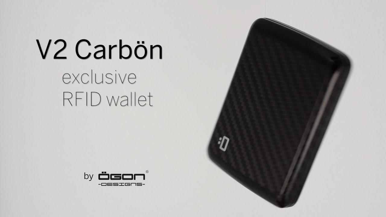 85027d9c41ff6 Stockholm V2 Carbon Fiber Card Case OGON DESIGNS - YouTube