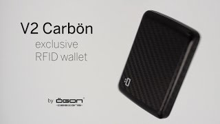 Card Case, Wallet <br/><strong>V2 CARBON WALLET</strong>