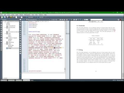 Citing with BibLaTex: From JabRef to the Bibliography - Latex Tutorial #10