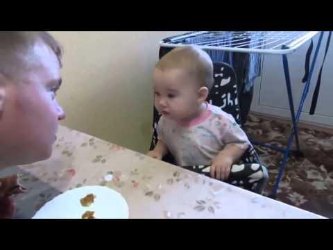 3.Малышка с характером.  Разговор папы с дочкой.  Приколы с детьми