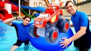 Школа героев Акватим - шоу в аквапарке. - Экзамены в школе Героев Акватим!