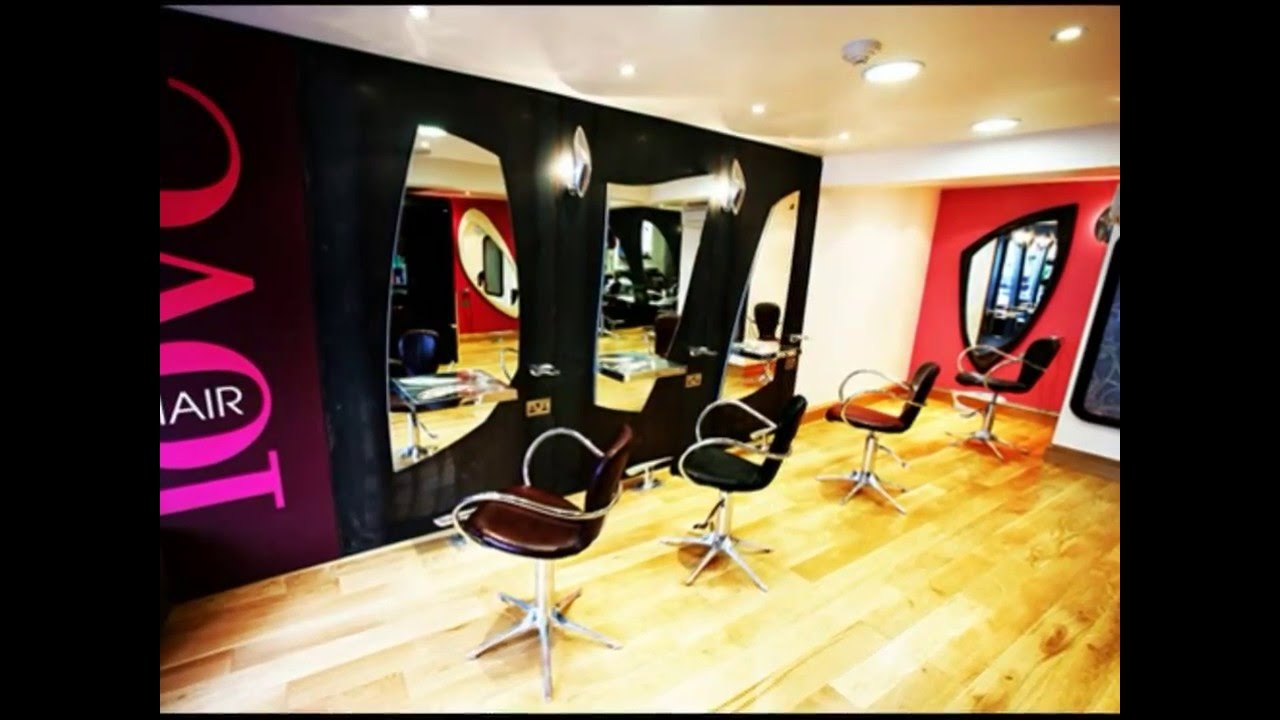 Awesome Elegant Hair Salon Interior Design Decoration Ideas