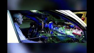 En Cali rueda el taxi que podría considerarse el más navideño de Colombia