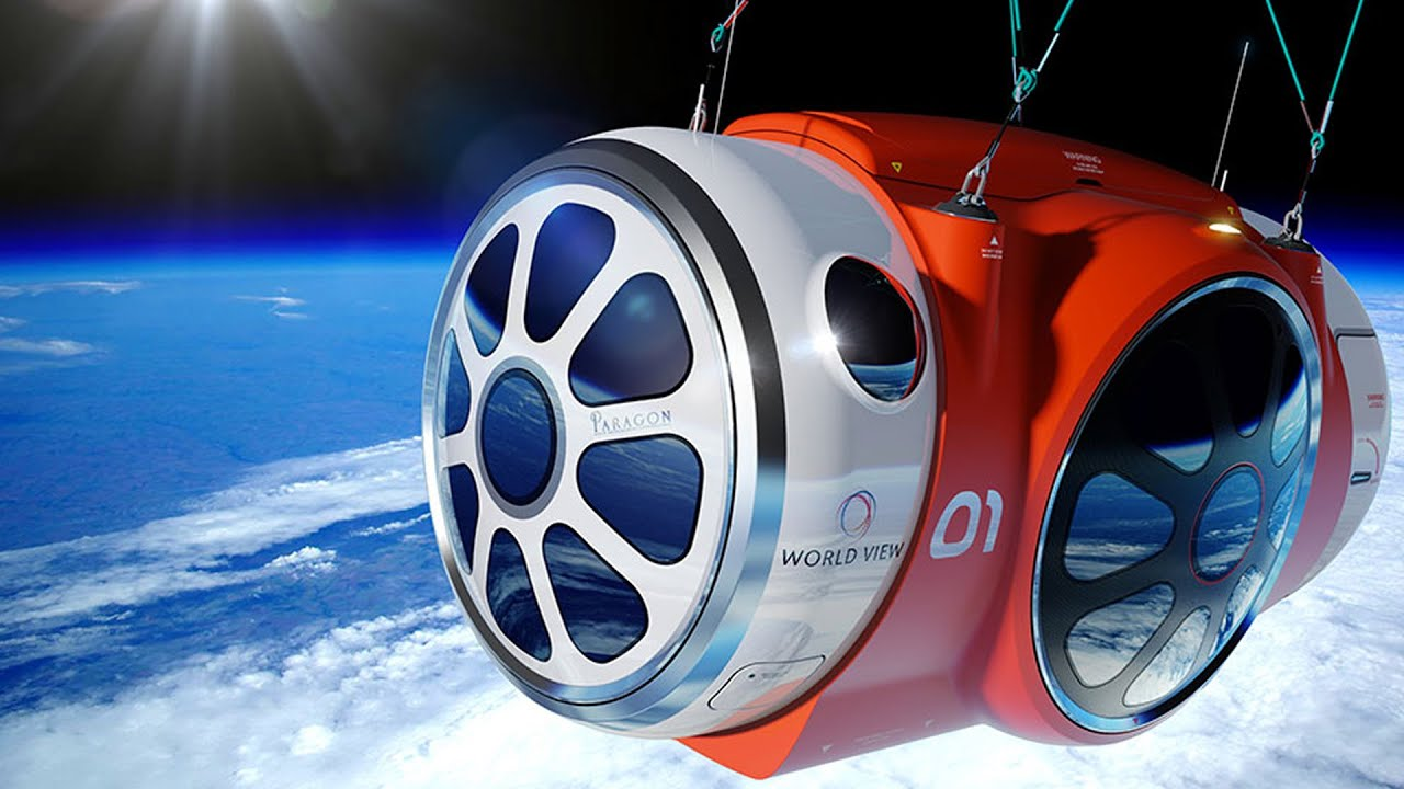 Space balloon to lift tourists into space, Virgin Galactic ...