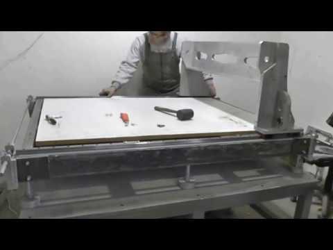 изготовление ювелирной муфельной печи из плиты шпгт 450 ( часть 1 .