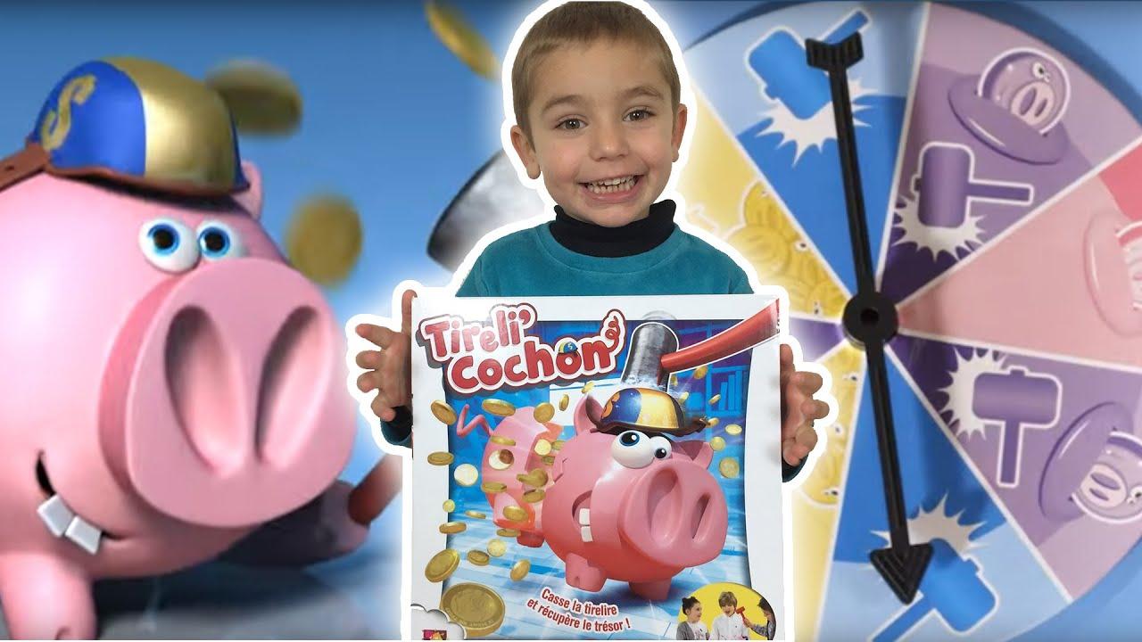 Jeu tireli 39 cochon challenge test jeux de soci t - Queue de cochon outil ...