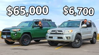 2020 Toyota 4Runner TRD Pro vs The V8 4Runner We JUST Bought // OFF ROAD TEST