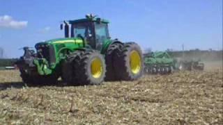 John Deere 8520 - Sokoró Mulcs talajlazító
