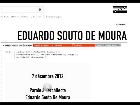 Eduardo Souto de Moura au Centre Pompidou - Paris