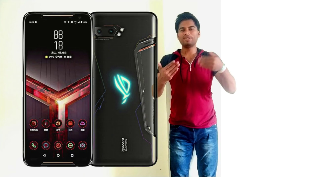 Asus ROG Phone 2 | 2019 | 6000 mAh Battery | Best in gaming | Unboxing features