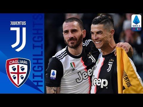 Juventus 4-0 Cagliari | CR7 Scores His First Serie A Hat-Trick as Juve Beat Cagliari | Serie A TIM