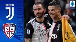 Juventus 4-0 Cagliari | CR7 Scores His First Serie A Hat-Trick as Juve Beat Cagliari | Serie A TIM
