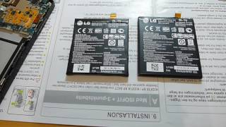 Nexus 5 заміна акумулятора, оригінальна і підроблена батерии
