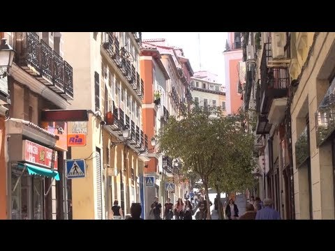 (3D) Madrid Downtown - Atocha Lavapies Arganzuela Full HD 1080i