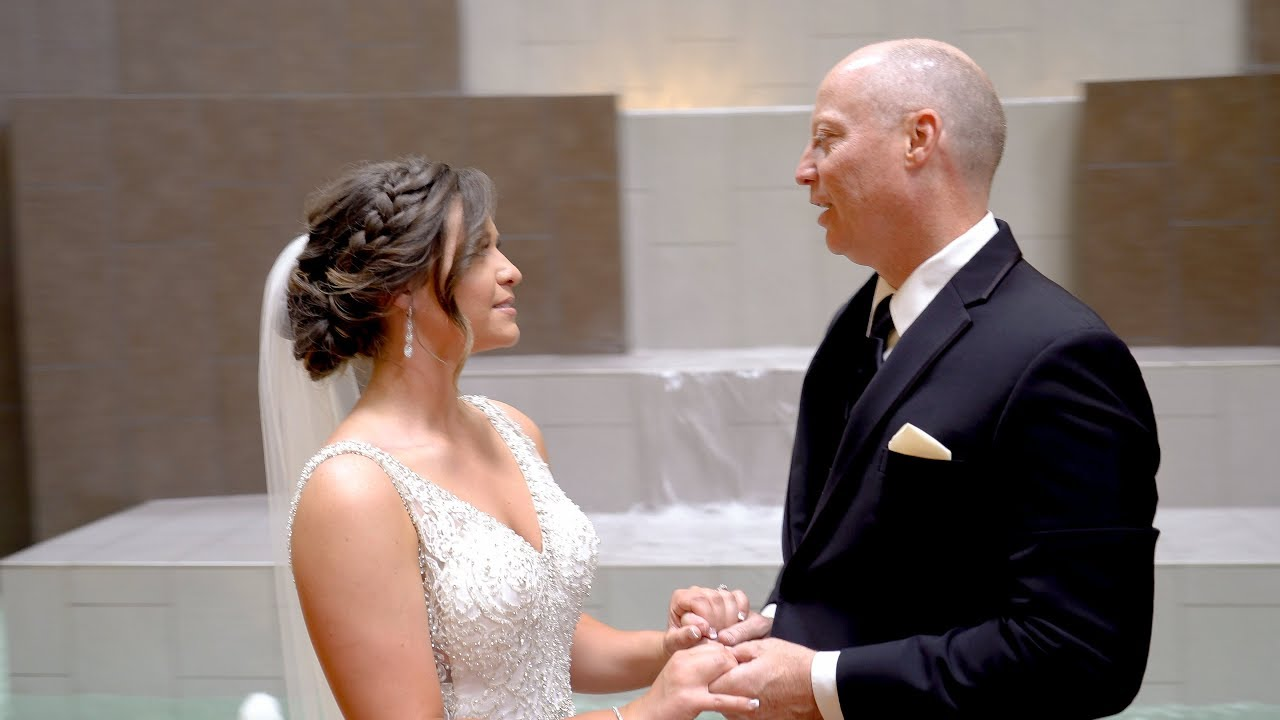 Bethany & Jared - First Look With Dad