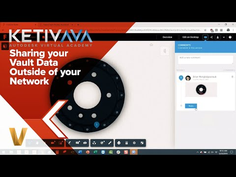 Sharing Your Vault Data Outside Of Your Network | Autodesk Virtual Academy