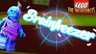 SCARY LEGO BOSS! Brainfreezer Unlocked! - Lego The Incredibles 100% Free Roam Gameplay #16