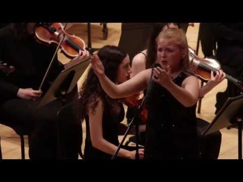 Beau Dermott sing with Glasgow Philharmonia