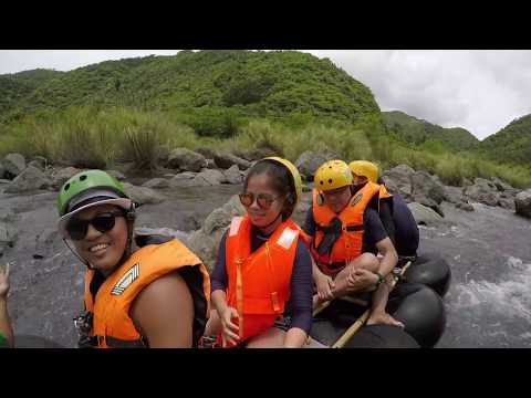 Real Quezon  White Water Rafting