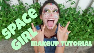SPACE GIRL MAKEUP TUTORIAL | DAY 6