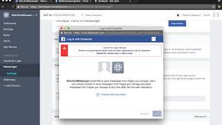Wie erstellen Sie einen chat-bot für Facebook-Messenger