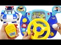 Robocar Poli Driving Toy! Let's drive a police car and arrest the villain! #PinkyPopTOY