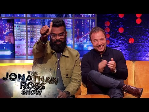 Stephen Graham Confronts Romesh Ranganathan About His Views On Liverpool | The Jonathan Ross Show
