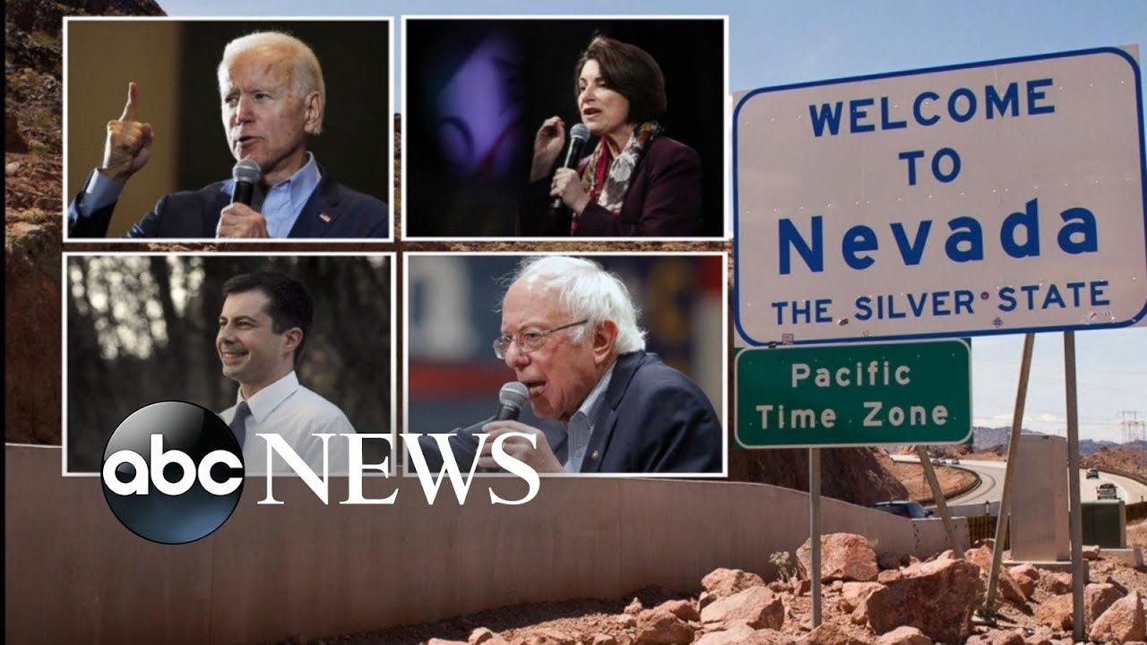 Democratic caucuses in Nevada: Candidates face most diverse ...