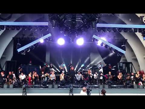 Janet Jackson - Rhythm Nation Rehearsal with Jenna Dewan