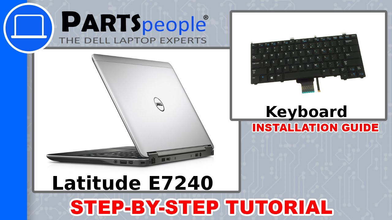 Dell Latitude E7240 Keyboard How To Video Tutorial Youtube