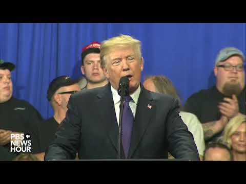 WATCH: President Trump speaks on tax reform in Ohio