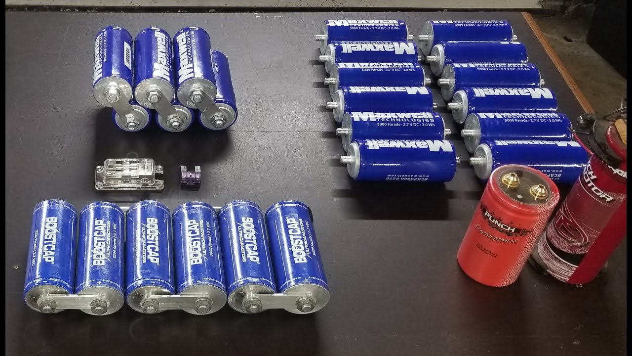 Supercapacitors as Competitors for Hydrogen and Batteries