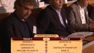 Лига Европы 2013 14  Жеребьевка раунда плей офф(Интересное видео., 2013-08-25T15:01:08.000Z)
